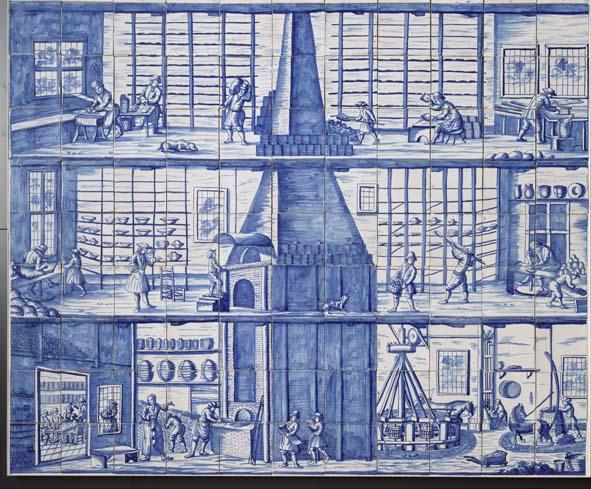 Tegel Delfts Blauw : Hoe produceerde men delftsblauw hoe maakte men delfts blauw