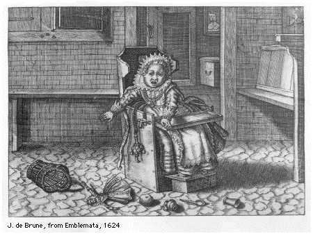 kinderspel voorwerp uit familieleven 17de eeuw vermeer van delft illustratie uit poppenhuis. Black Bedroom Furniture Sets. Home Design Ideas